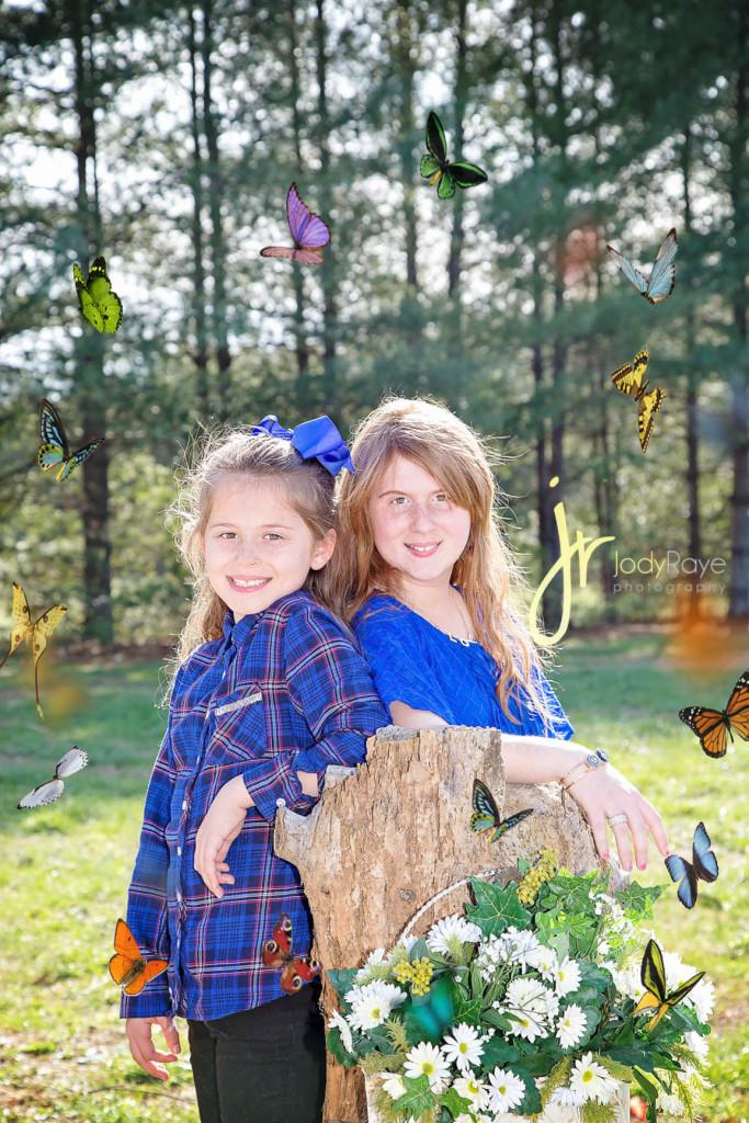 jodyrayephotography spring sessions butterflies